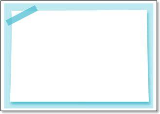 メッセージカード【メモ風の枠 ... : メッセージメモ : すべての講義