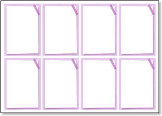 メッセージカード メモ風 紫 A4 ... : メッセージメモ : すべての講義